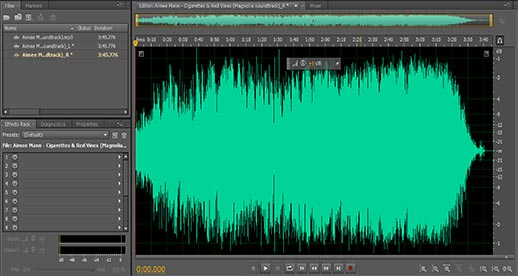 how to clean up audio audition