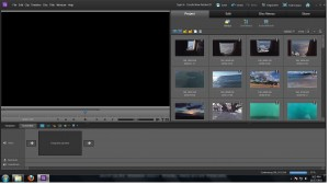 Adobe Premiere Elements 10 Main Screen