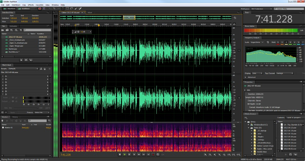 what is adobe audition cs6 used for