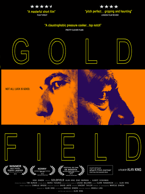 Gold Field Poster