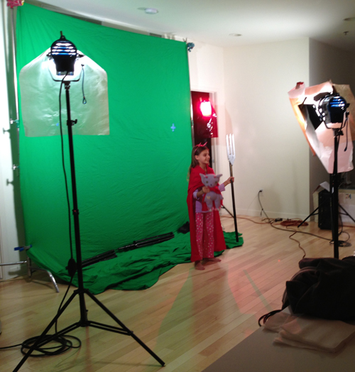 Behind the scenes of THAT DOESN'T MAKE SENSE, with performer Masha Malinina.