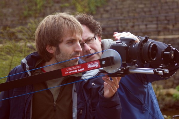 Director Neil Oseman used a Canon 600D DSLR for filming Stop/Eject and frequently employed a Hague HDV Boom for exterior shots.