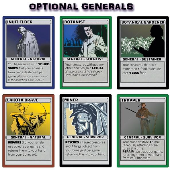 Optional Generals