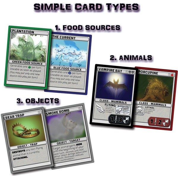 Simplified Card Types