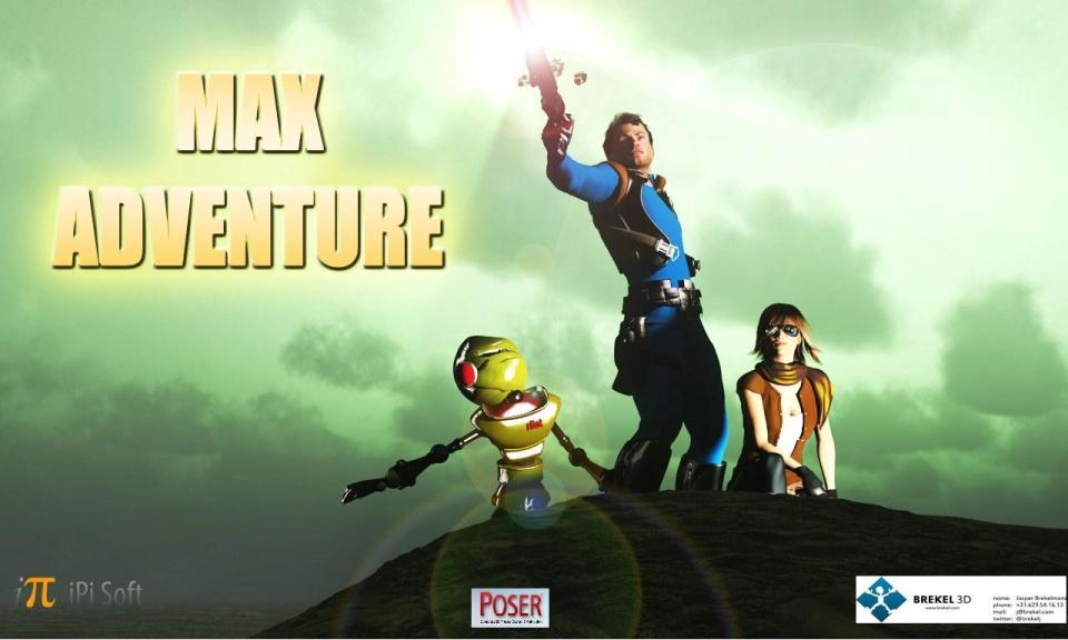 Max Adventure Promo Art #1