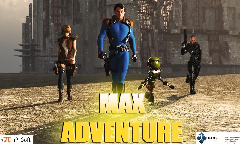 Max Adventure Promo Art.