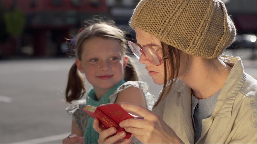 When a homeless woman discovers the Bible...