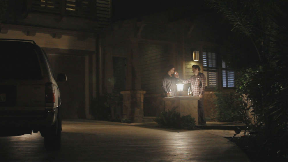 A Scene Shot Using No Budget Lighting Gear Keon Hedayati And Shayan Shivaei In
