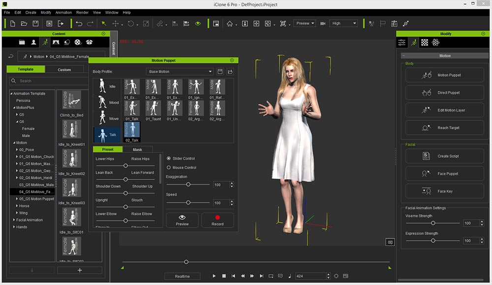 Iclone 6 pro character creator software review for 3d creator online