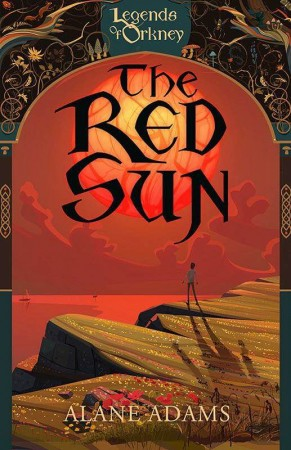 The Red Sun, by Alane Adams, inspired this creative multimedia experiment.