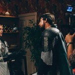 "Amy Letcher (left) and John Ellsworth Philips (right) go head to head in a scene from ""Goblin Queen""."