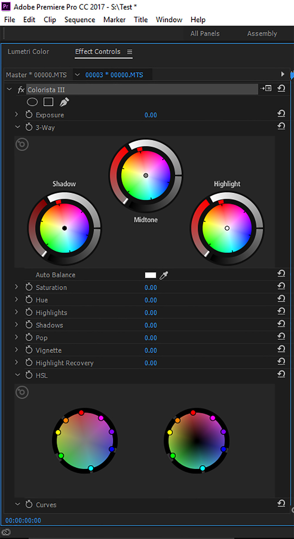 Red Giant's robust color correction tool, Colorista.