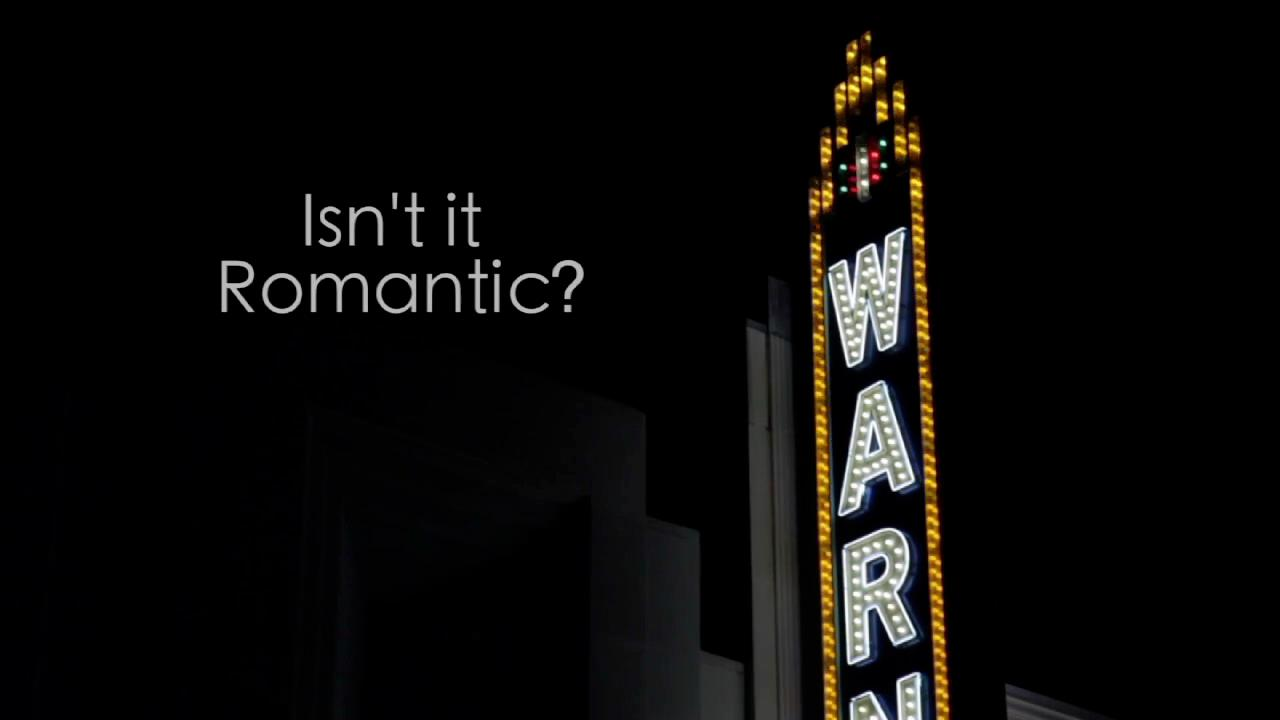 """Isn't It Romantic?"" Title Screen"