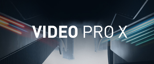 New MAGIX Video Pro X launches