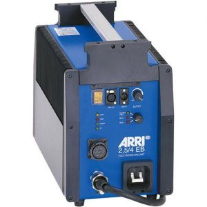 Arri electronic ballast for 2.5K and 4K HMIs