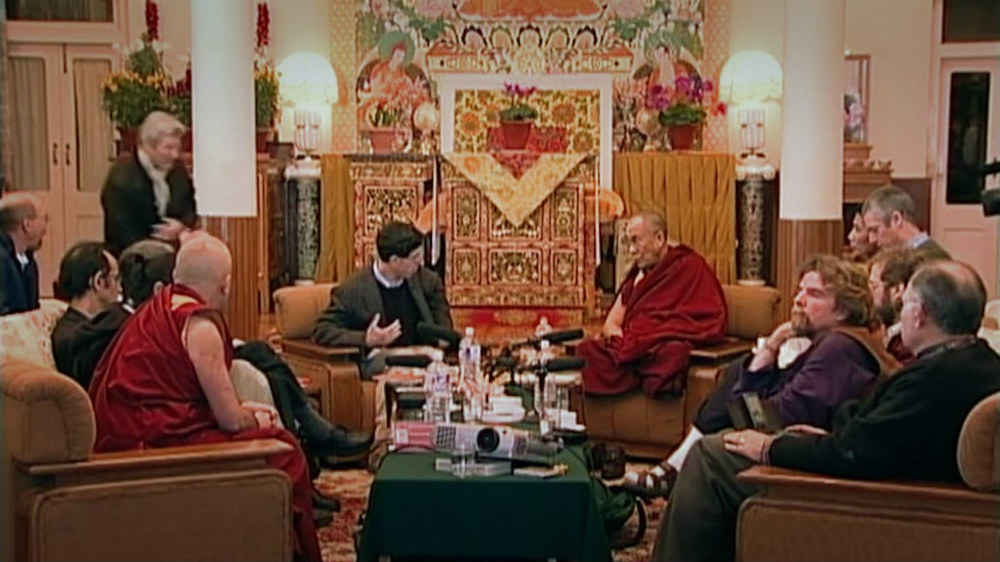 The Dalai Lama has engaged with many high profile scientists and audiences, always eager to learn and grow