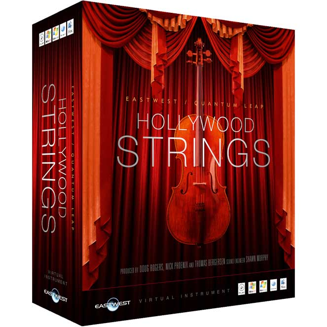 Hollywood Strings Cover