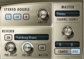 Reverbs designed specifically for brass, such as 'Hamburg Brass,' are already part of the award-winning Hollywood Brass package.