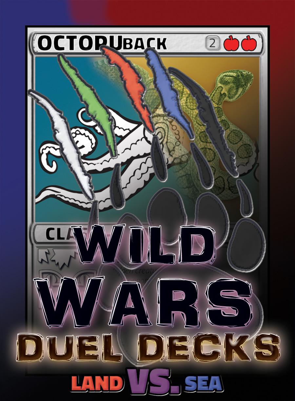 Land Vs. Sea Basic Dueling Deck