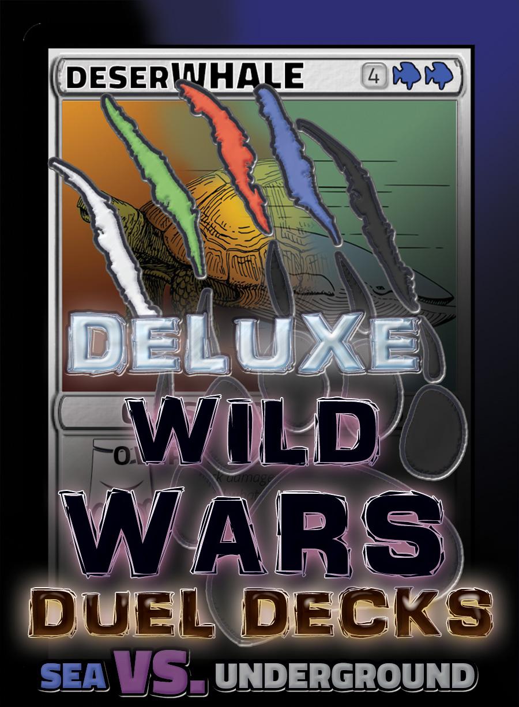 Sea Vs. Underground Deluxe Dueling Deck